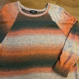 Ombré Express Sweater Large Like New